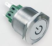 25 Power symbol  Pushbutton