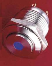 16 dot LED Pushbutton