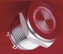 16 ring LED Pushbutton