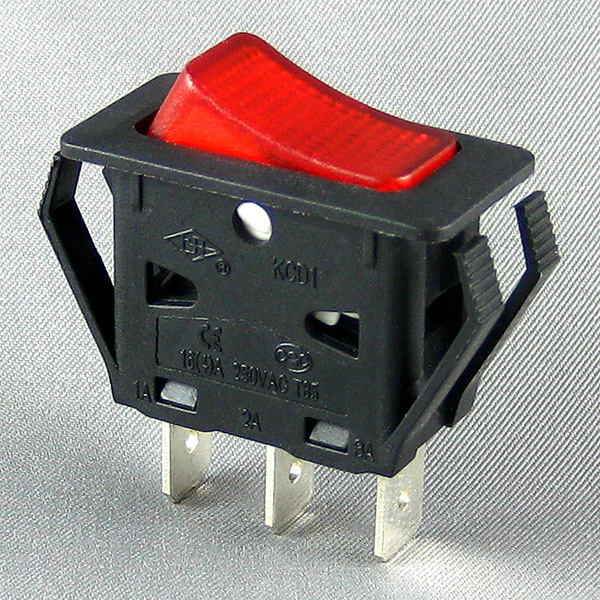 KCD1 Rocker switch