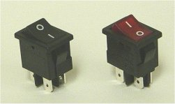 DP Rocker switch 13x19mm