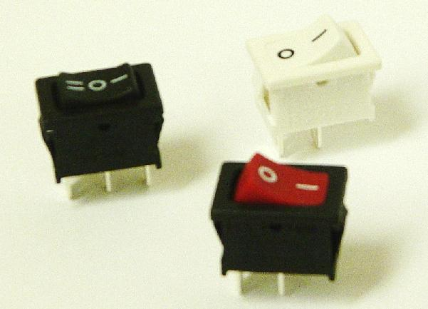 Rocker switch 13x19mm